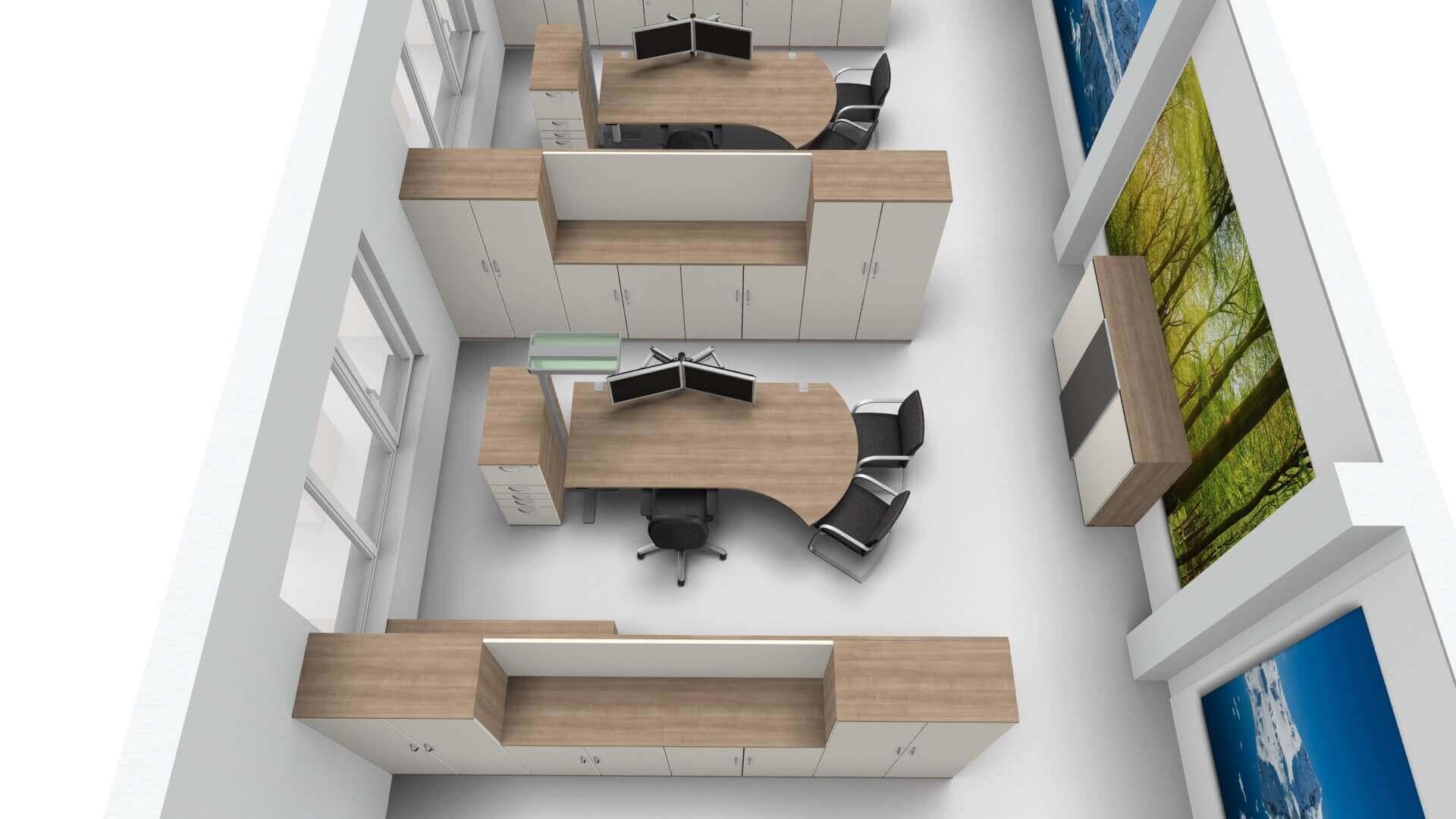3D-Büroplanung Biedersberger Bürotechnik GmbH