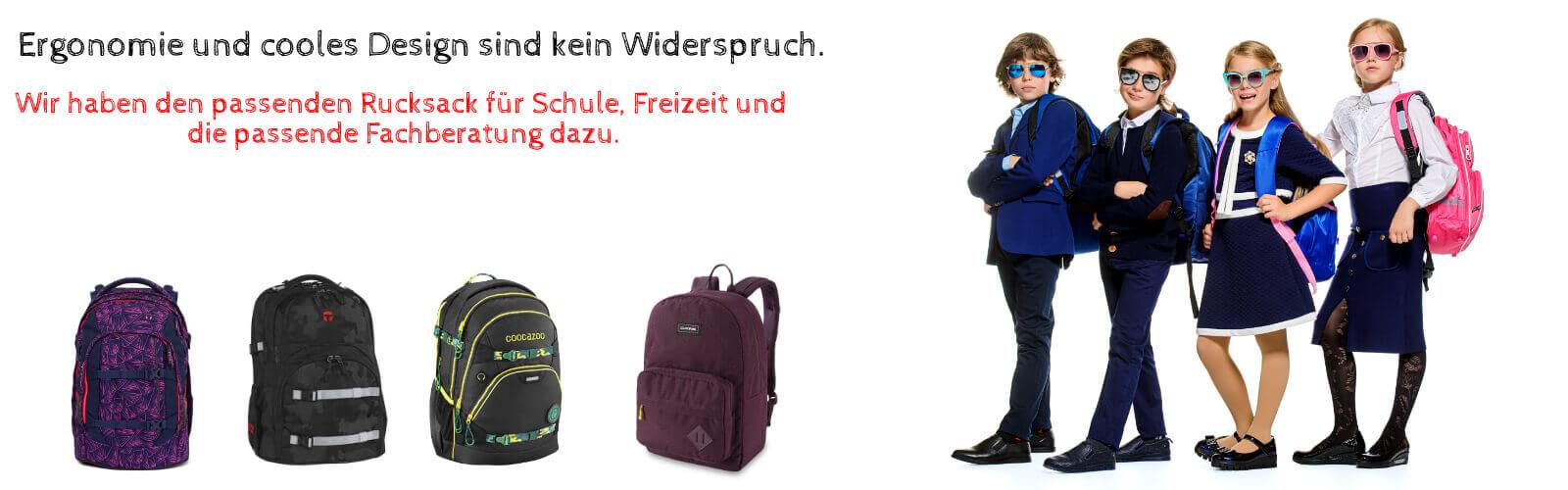 Coole Kids tragen Schulrucksäcke von Biedersberger Bürotechnik GmbH